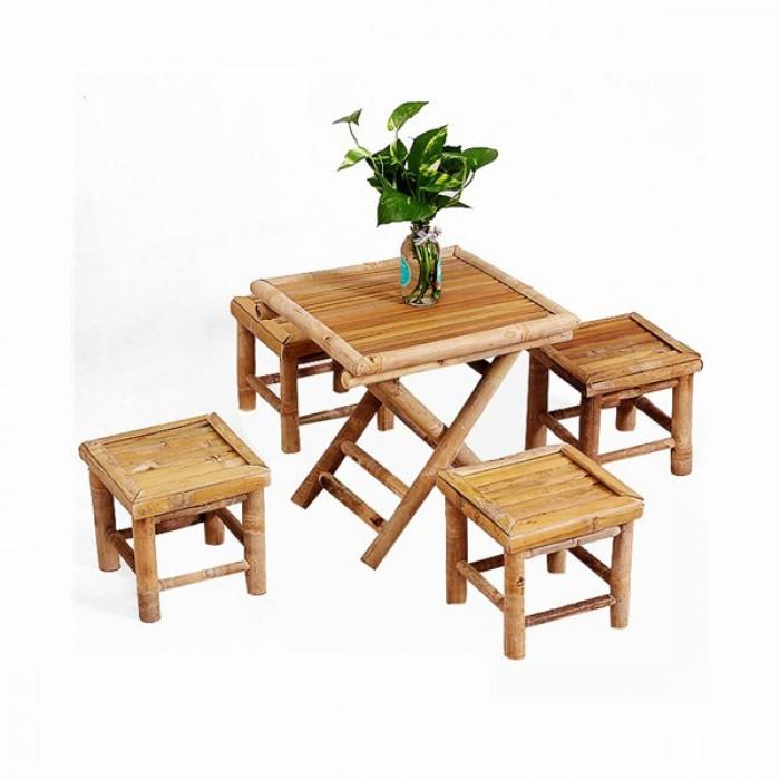 Nội thất tre cách tân, nội thất từ tre, cho thuê bàn ghế tre tại TP  HCM5