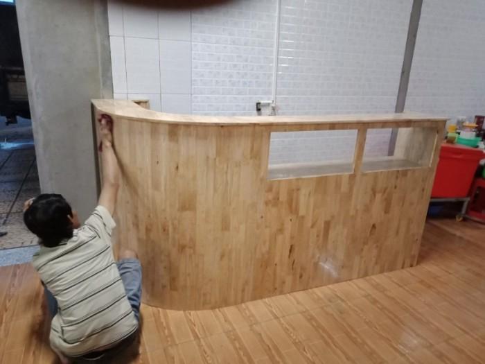 quầy pha chế cafe làm tại xưởng sản xuất hoàng minh 768760