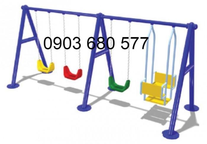 Chuyên cung cấp xích đu liên hoàn cho trường mầm non, công viên, khu vui chơi2