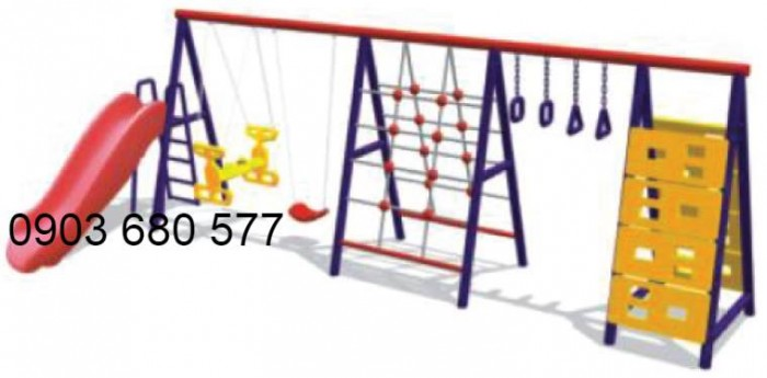 Chuyên cung cấp xích đu liên hoàn cho trường mầm non, công viên, khu vui chơi1