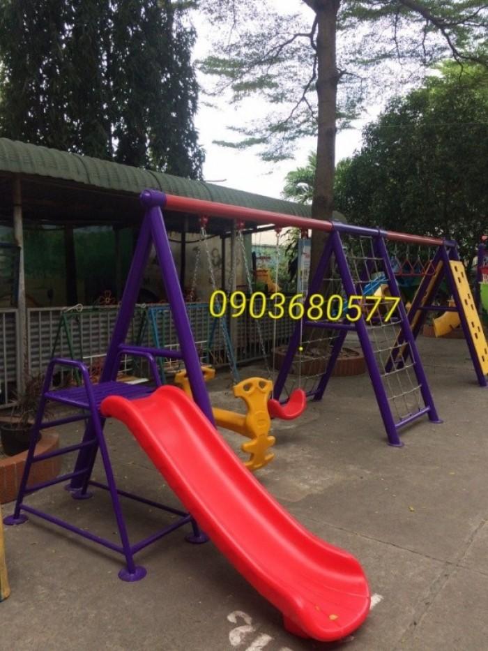 Chuyên cung cấp xích đu liên hoàn cho trường mầm non, công viên, khu vui chơi7