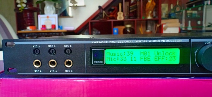 Vang số karaoke PS X10 Plus Giao diện đơn giản, dễ xài, máy tích hợp 15 băng tần Equalizer dải rộng cho phép điều chỉnh từng băng tần một cách chi tiết0