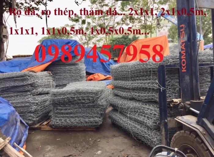 Sản xuất rọ đá mạ kẽm, rọ đá bọc nhựa pvc tại Hà Nội1