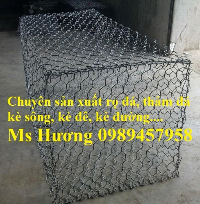 Sản xuất rọ đá mạ kẽm, rọ đá bọc nhựa pvc tại Hà Nội2