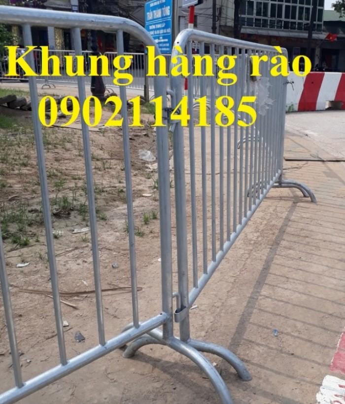 Hàng rào di động, hàng rào chắn xe, hàng rào kiểm soát đám đông0