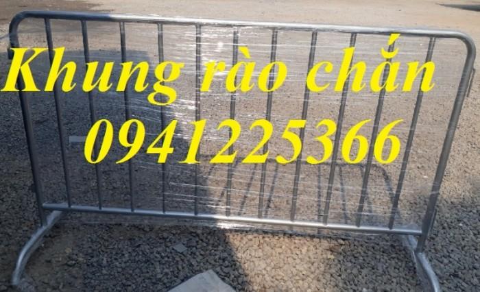 Hàng rào di động, hàng rào chắn xe, hàng rào kiểm soát đám đông4