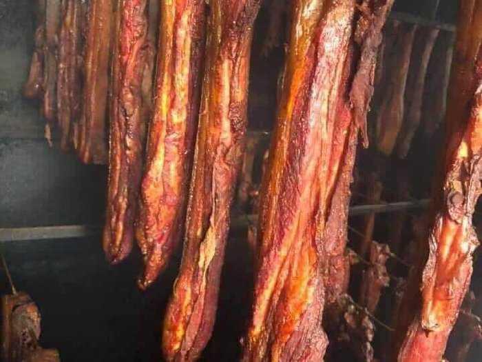 Thịt ba chỉ hun khói.0