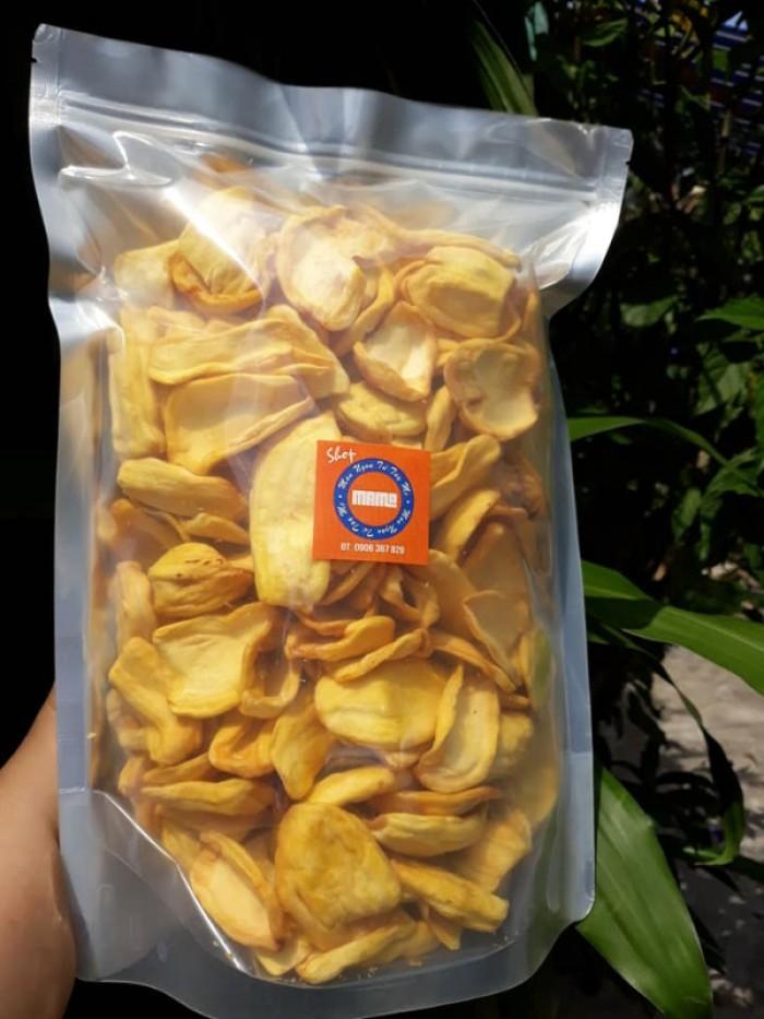 Gói 500gr Mít sấy giòn tự nhiên thơm ngon - Food By Mama0