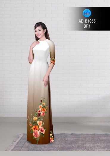 Vải áo dài AD B10553