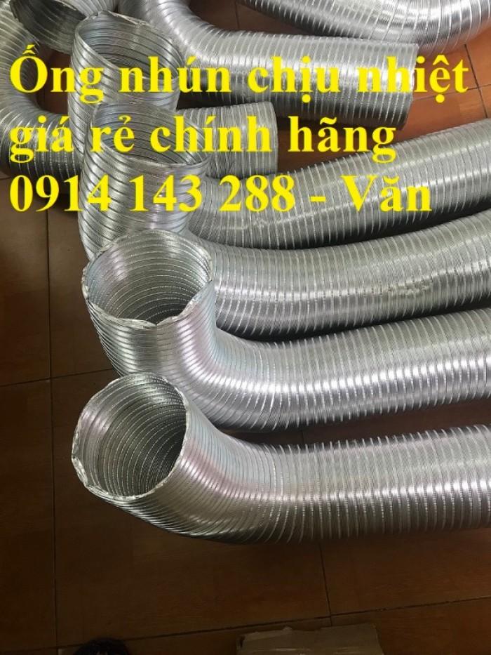 Ống nhôm nhún chịu nhiệt D300 - kéo 3m chính hiệu giá rẻ1