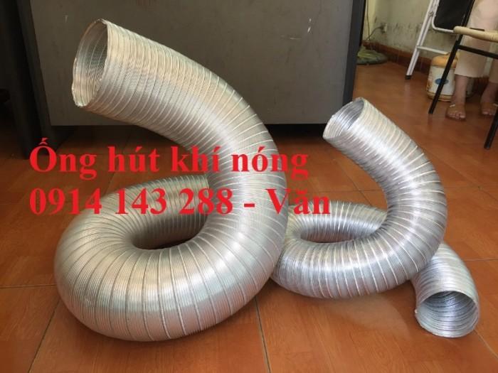 Ống nhôm nhún chịu nhiệt D300 - kéo 3m chính hiệu giá rẻ2