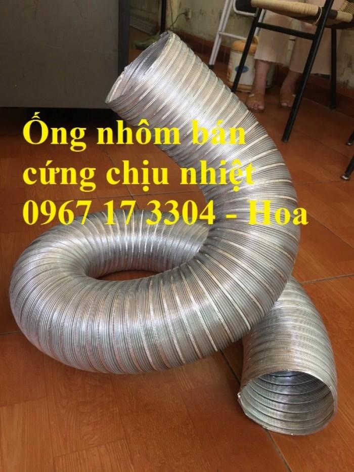 Ống nhôm nhún chịu nhiệt D300 - kéo 3m chính hiệu giá rẻ3
