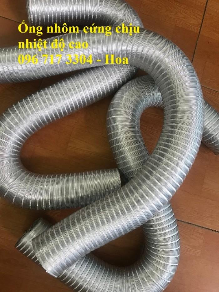 Ống nhôm nhún chịu nhiệt D300 - kéo 3m chính hiệu giá rẻ5