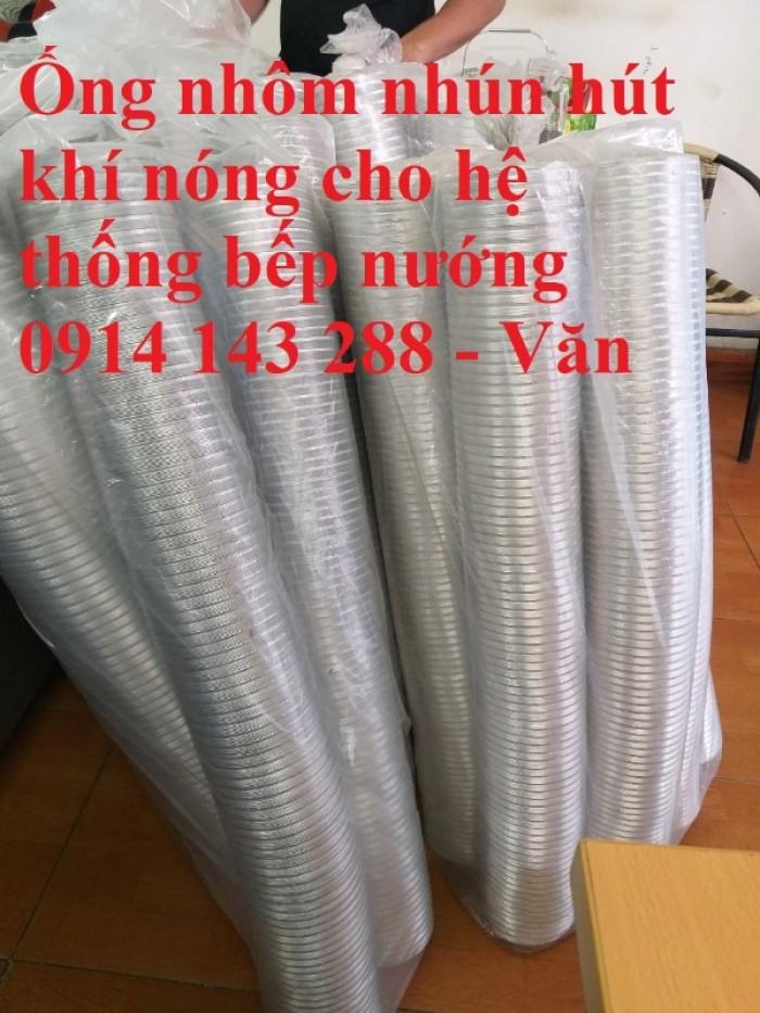 Ống nhôm nhún chịu nhiệt D300 - kéo 3m chính hiệu giá rẻ6