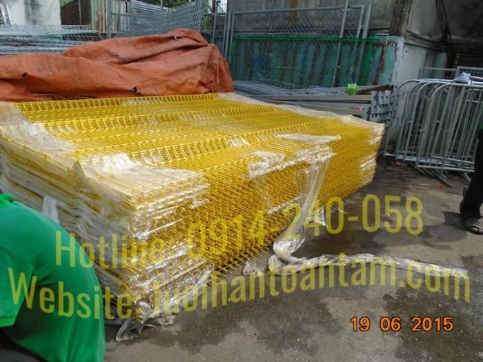 Hàng rào lưới thép hàn Toàn Tâm; Sản xuất trực tiếp không qua trung gian2