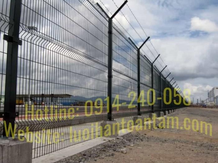 Hàng rào lưới thép hàn Toàn Tâm; Sản xuất trực tiếp không qua trung gian10