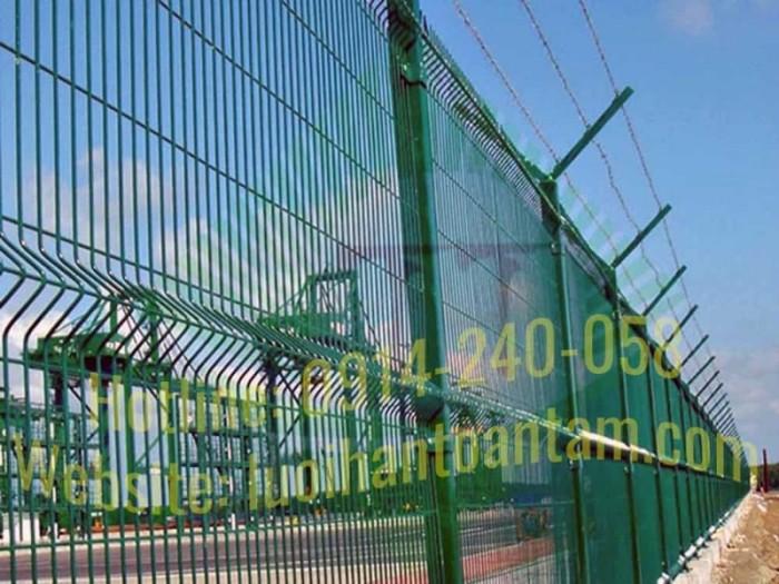 Hàng rào lưới thép hàn Toàn Tâm; Sản xuất trực tiếp không qua trung gian9