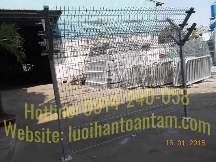Hàng rào lưới thép hàn Toàn Tâm; Sản xuất trực tiếp không qua trung gian13