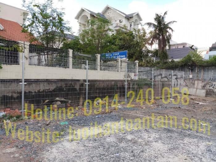 Hàng rào lưới thép hàn Toàn Tâm; Sản xuất trực tiếp không qua trung gian15