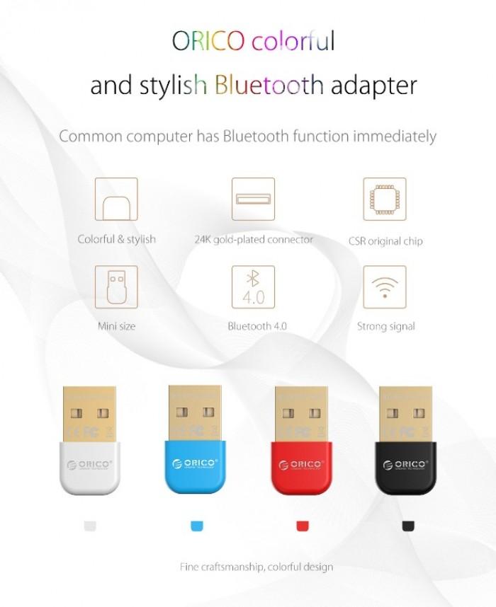 Usb Bluetooth Adapter Orico chính hãng- Kết nối Bluetooth nhanh chóng14