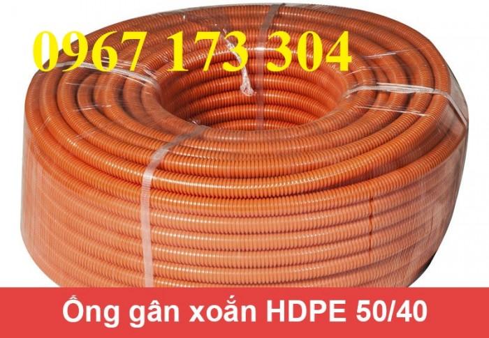 Ống gân nhựa xoắn HDPE 40/50 chất lượng cao3