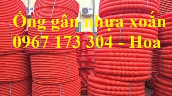 Ống gân nhựa xoắn HDPE 40/50 chất lượng cao5