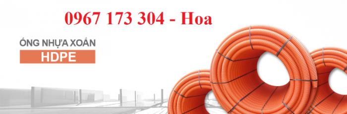 Ống gân nhựa xoắn HDPE 40/50 chất lượng cao0