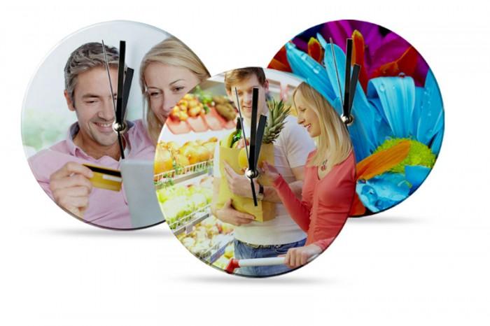 ĐỒNG HỒ IN -CON HIU HỒNG- quà tặng doanh nghiệp giá rẻ hcm