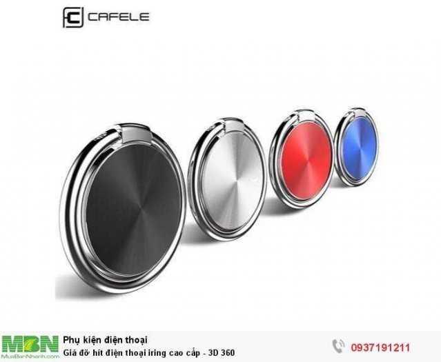 Giá đỡ hít điện thoại iring cao cấp 3D 360 thời trang3
