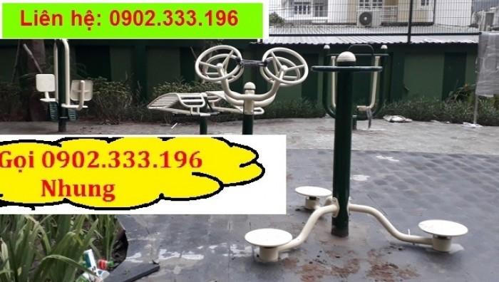 Chuyên cung cấp dụng cụ tập thể dục công viên giá rẻ0