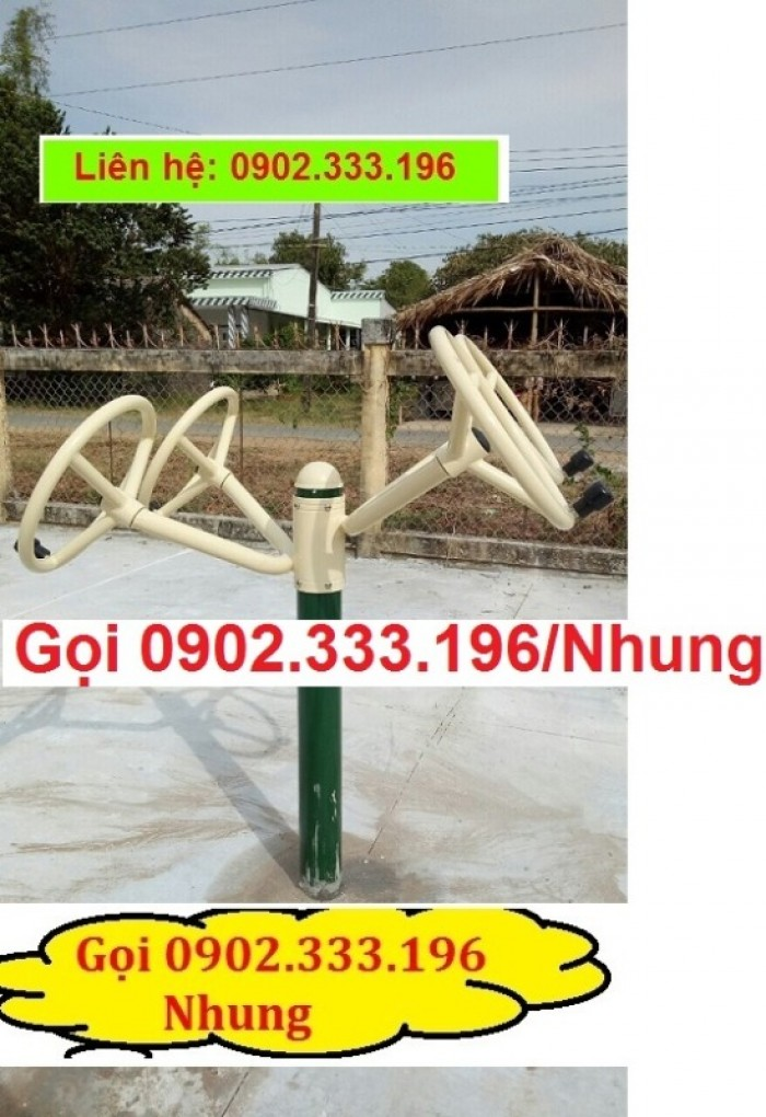 Chuyên cung cấp dụng cụ tập thể dục công viên giá rẻ5