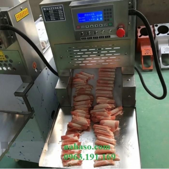 Máy thái thịt bò mỹ tự động công suất lớn1