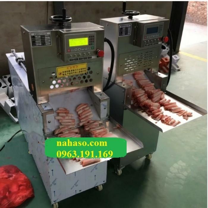 Máy thái thịt bò mỹ tự động công suất lớn2