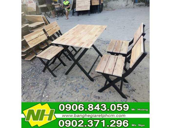 bộ bàn ghế gỗ nội thất nguyễn hoàng mẫu chân sắt0