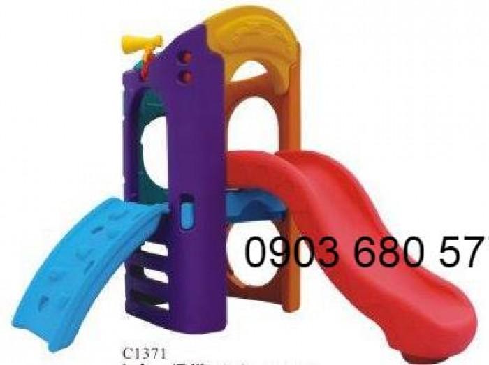 Chuyên nhập khẩu, sản xuất và cung cấp cầu trượt đơn dành cho trẻ em9