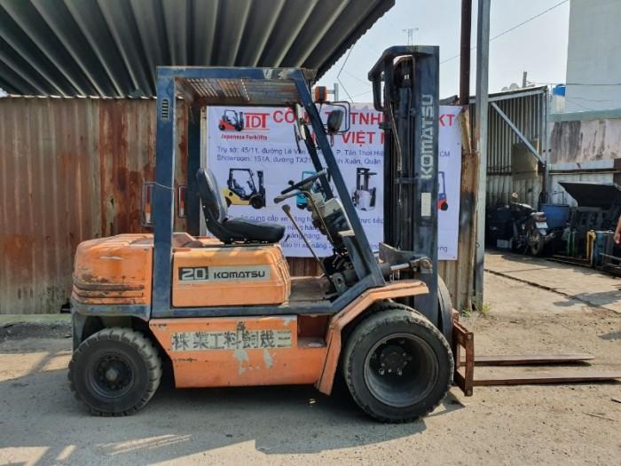 Xe Nâng Nhập Khẩu Từ Nhật - Xe Nâng Gía Rẻ - Xe Nâng KOMATSU FD 20 -11 ( Đã Qua Sử Dụng )