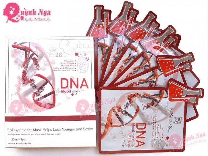 Mặt Nạ Huyết Tương Thực Vật DNA Mặt Nạ Huyết Tương Với DNA Và Collagen Chiết Suất Từ Thực Vật.