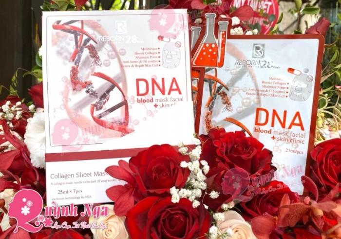 Mặt Nạ Huyết Tương Với DNA Và Collagen Chiết Suất Từ Thực Vật Mặt Nạ Huyết Tương Thực Vật DNA 3