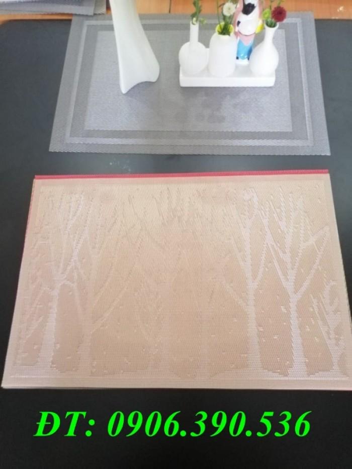 Tấm lót trang trí bàn ăn, lót ly , chén, dĩa mẫu mới cho giáng sinh và tết4