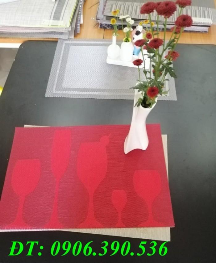 Tấm lót trang trí bàn ăn, lót ly , chén, dĩa mẫu mới cho giáng sinh và tết2