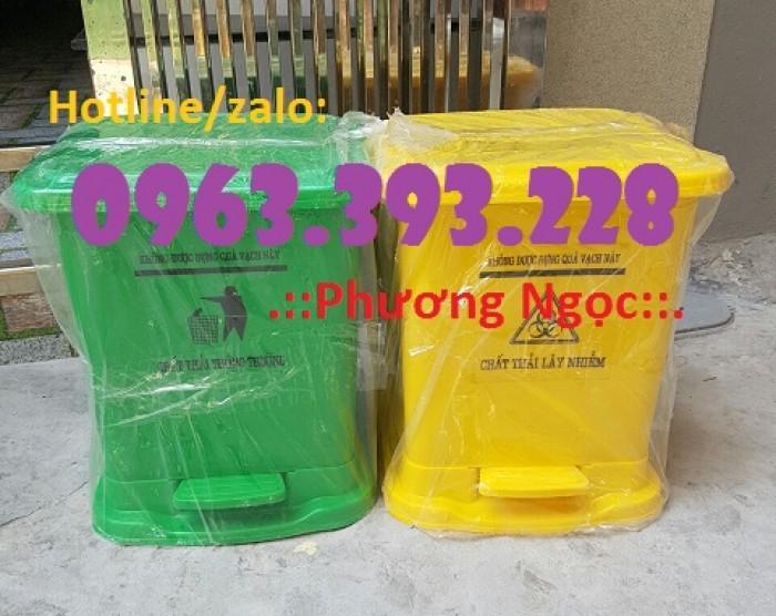 Thùng rác y tế đạp chân, thùng chứa rác thải lây nhiễm, thùng đựng rác thải y tế0