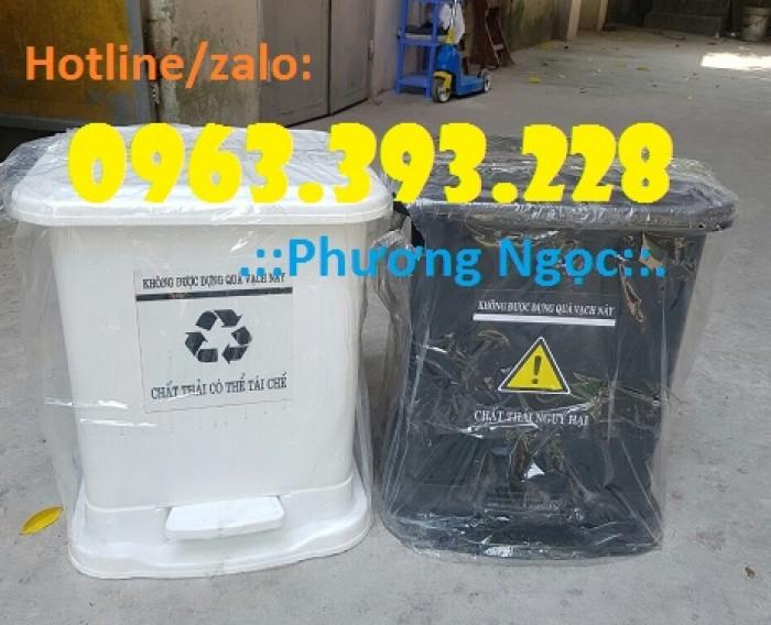 Thùng rác y tế đạp chân, thùng chứa rác thải lây nhiễm, thùng đựng rác thải y tế3
