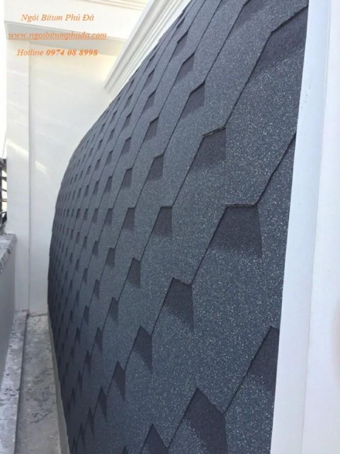 Vật liệu lợp mái ngói bitum phủ đá10