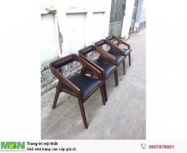 Ghế nhà hàng cao cấp giá rẻ0