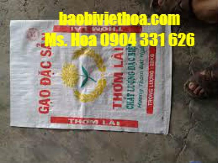 Cung cấp bao pp dệt đựng lúa gạo giá rẻ0