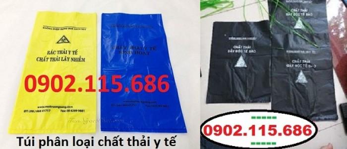 Túi rác thải y tế tự hủy, túi đựng chất thải y tế tự hủy,2