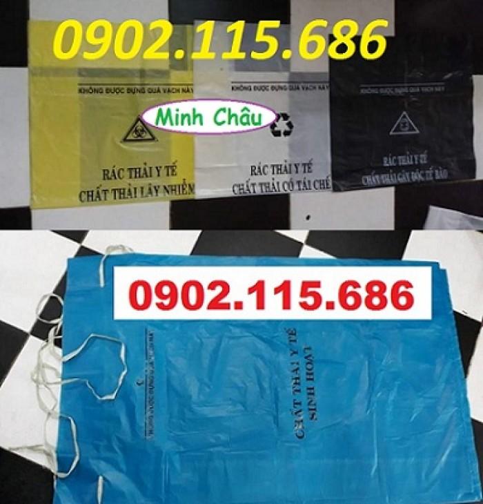 Túi rác thải y tế tự hủy, túi đựng chất thải y tế tự hủy,4