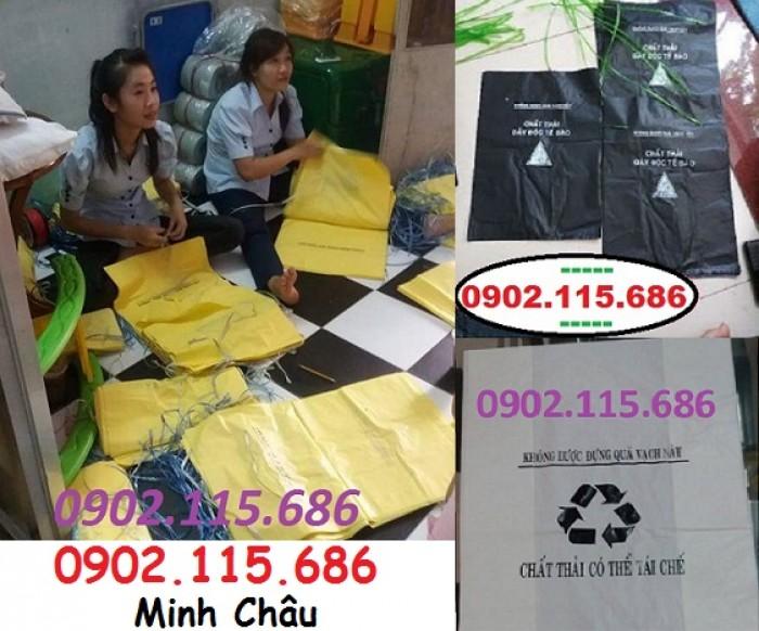 Túi rác thải y tế tự hủy, túi đựng chất thải y tế tự hủy,5