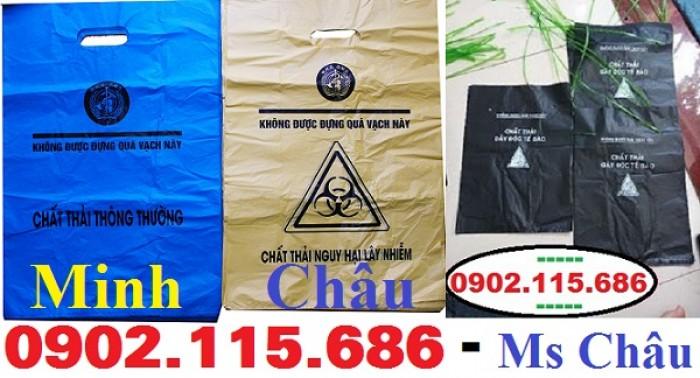 Túi rác thải y tế tự hủy, túi đựng chất thải y tế tự hủy,3