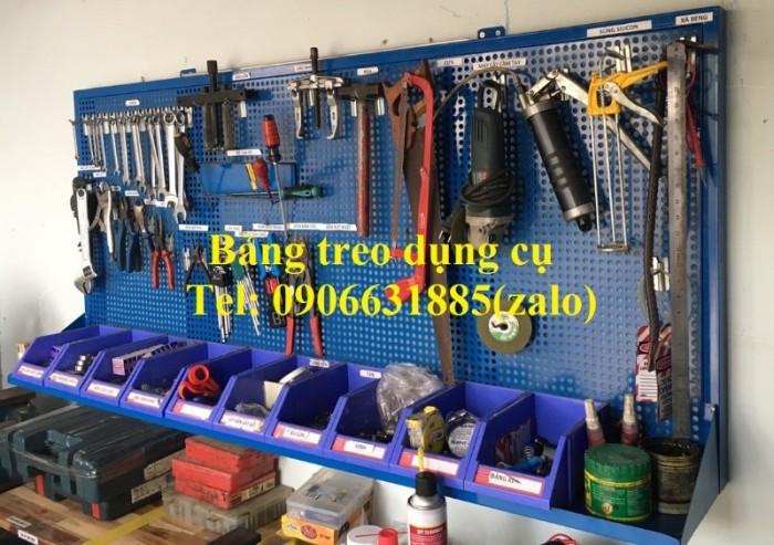 Giá treo đồ sửa chữa xe, giá treo dụng cụ, bảng treo đồ nghề0